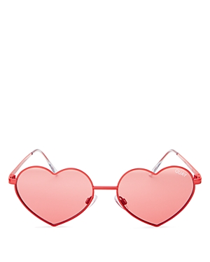 Quay Heart Breaker Sunglasses, 53mm