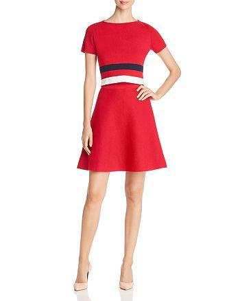 Armani - Striped Knit Dress - 100% Exclusive