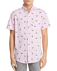 Sovereign Code Crystal Cove Pina Colada Short Sleeve Button-Down Shirt - Bloomingdale's_0