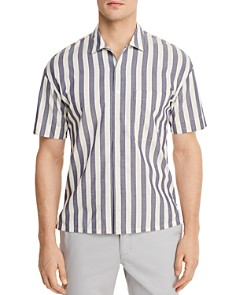 Burberry Harley Vertical Stripe Button-Down Shirt - 100% Exclusive - Bloomingdale's_0