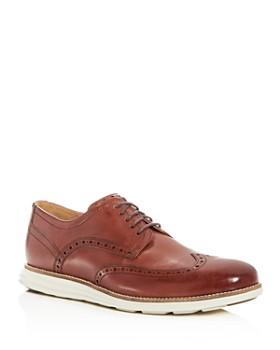 Cole Haan - Men's Original Grand Leather Wingtip Oxfords