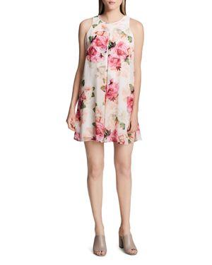 Calvin Klein Floral-Print Sleeveless Mini Dress 2865339