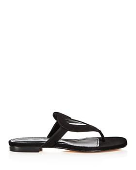 Isa Tapia - Women's Te-Amo Suede Thong Sandals