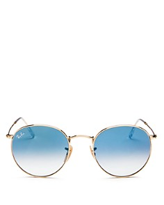 Ray-Ban - Unisex Gradient Round Sunglasses, 53mm