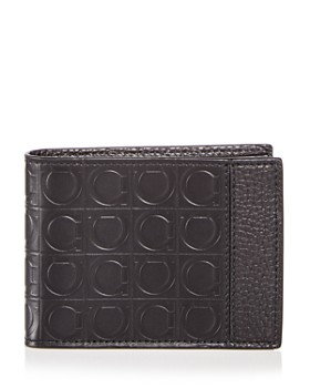 de91d1b07e61 Salvatore Ferragamo - Embossed Leather Bi-Fold Wallet ...
