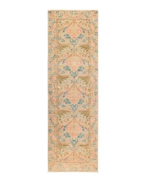 Solo Rugs Arts & Crafts Runner Rug, 2'7 x 8'3