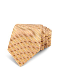 The Men's Store at Bloomingdale's Neat Linked-Circle Silk Classic Tie_0