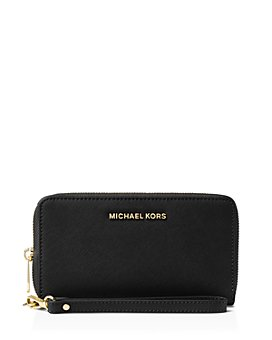 MICHAEL Michael Kors - Multi-Function Flat Large Saffiano Leather Smartphone Wristlet