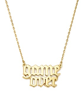 "Bing Bang NYC - Game Over Necklace, 16"" - 100% Exclusive"