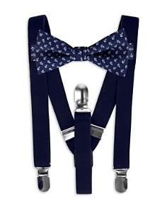 Bloomingdale's Boys Boys' Suspenders & Anchor-Print Bow Tie Set - 100% Exclusive _0