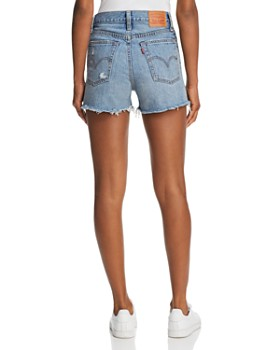 Levi's - Wedgie Denim Shorts in Blue Your Mind