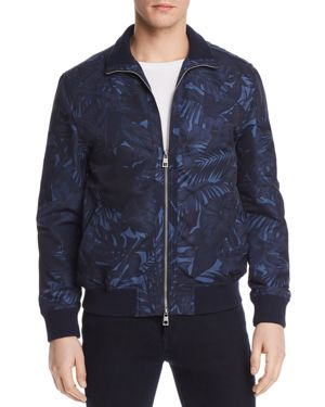 Michael Kors Tropical Printed Bomber Jacket - 100% Exclusive