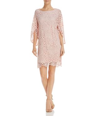 nanette Nanette Lepore Slit-Sleeve Lace Dress 2867677