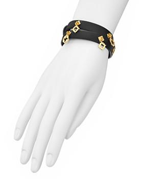 Tory Burch - Geo Charm Wrap Bracelet