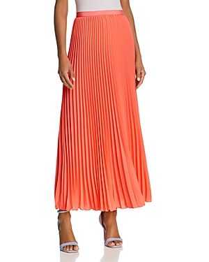 French Connection Polly Plains Pleated Maxi Skirt