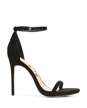 Sam Edelman - Women's Ariella Suede High-Heel Ankle Strap Sandals