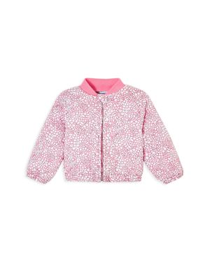 Jacadi Girls' Liberty Cathy Floral Print Bomber Jacket - Baby