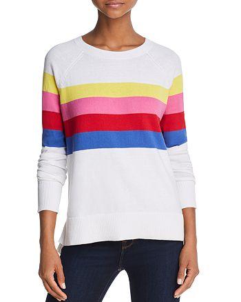 AQUA - Rainbow Striped Sweater - 100% Exclusive