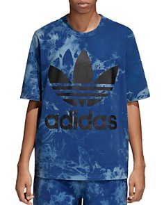 adidas Originals Legend Ink Tie Dye Logo Tee - Bloomingdale's_0