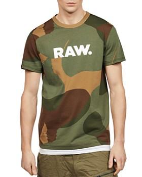 G-STAR RAW - Zost Camouflage Logo Tee