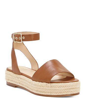 6ad9670855 VINCE CAMUTO Women's Kathalia Leather Platform Espadrille Sandals ...