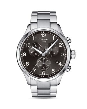 TISSOT T1166171105701 Chrono Xl Classic Stainless Steel Watch in Silver