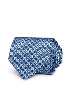 The Men's Store at Bloomingdale's Printed Geometric Neat Classic Tie - 100% Exclusive_0