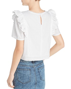 Beltaine - Ruffled Lace Top - 100% Exclusive