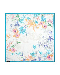 Fraas - Floral Silk Square Scarf