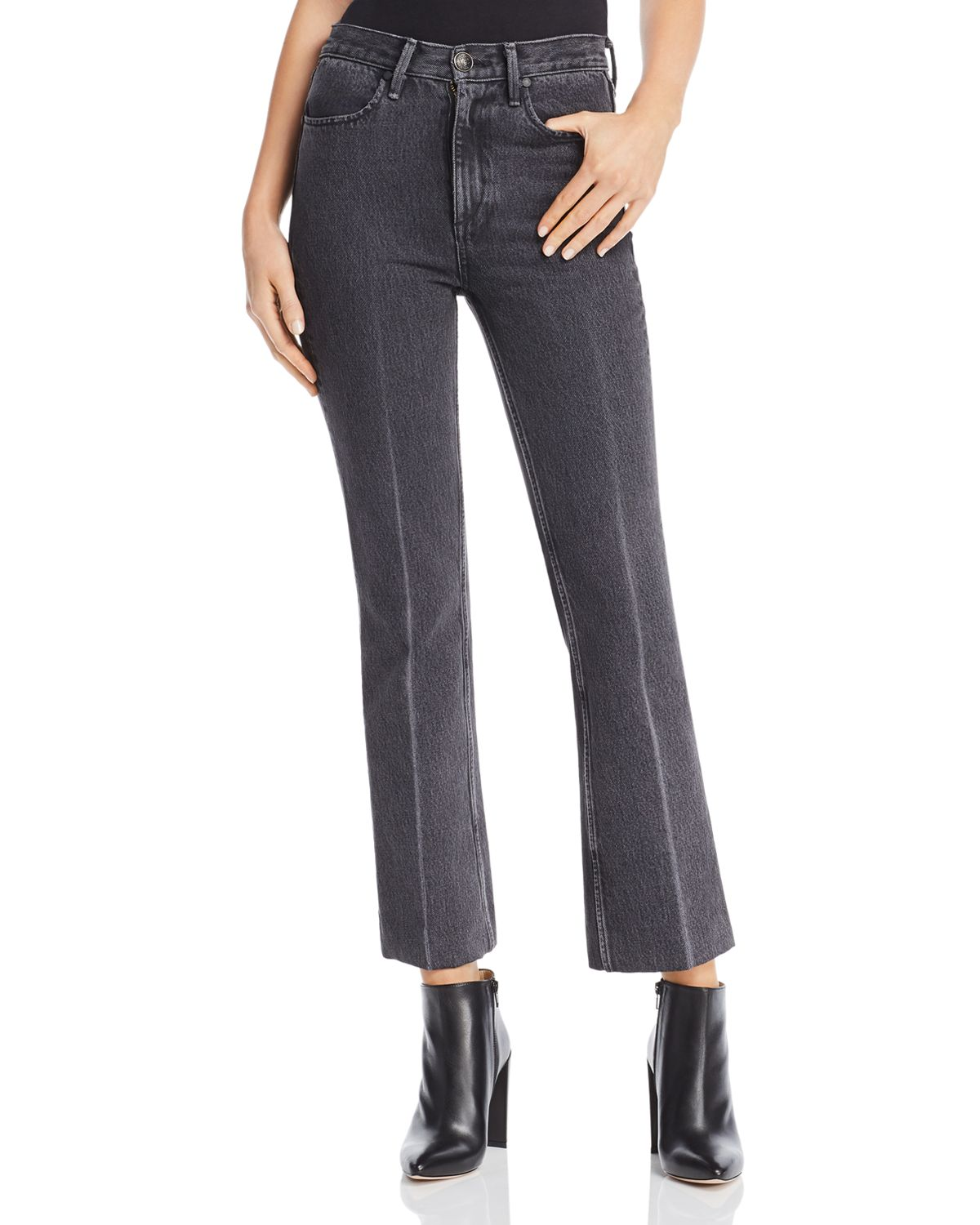 Dylan cropped trousers - Grey Rag & Bone