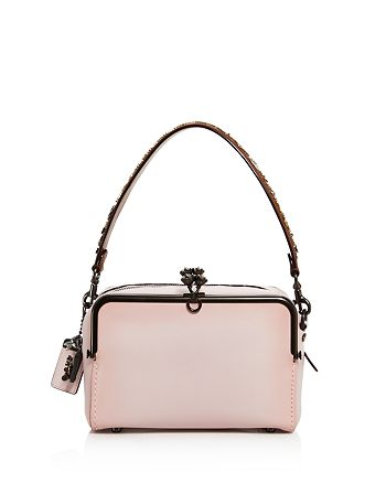 Coach Mailbox Glossy Glovetanned Leather Shoulder Bag
