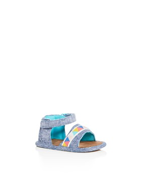 TOMS - Girls' Shiloh Tribal Chambray Sandals - Baby