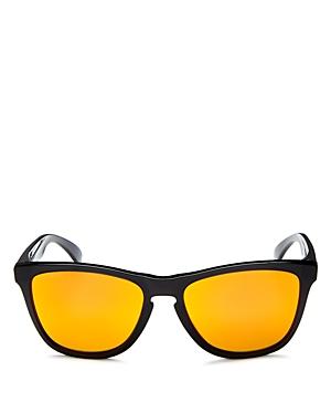 d38ddc8cfa88 OAKLEY Frogskins Prizm Polarized Mirrored Square Sunglasses ...