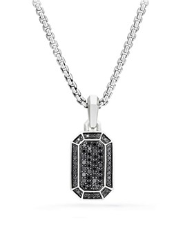 David Yurman - Streamline Pavé Amulet with Black Diamonds