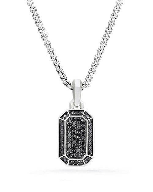David Yurman - Streamline Pavé Amulet with Black Diamonds