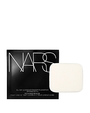 For the most silky, comfortable wear and velvety smooth application, replace your sponge for Nars All Day Luminous Powder Foundation as needed. Includes one refill.