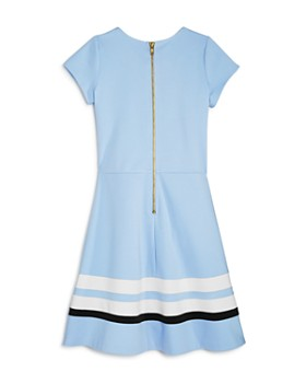 AQUA - Girls' Solid & Striped Dress, Big Kid - 100% Exclusive