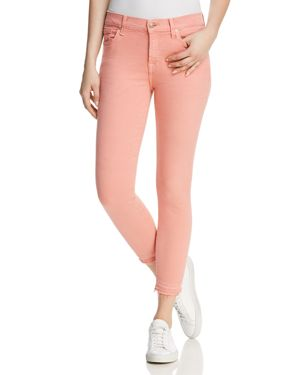 7 For All Mankind The Ankle Skinny Jeans in Primrose 2881191