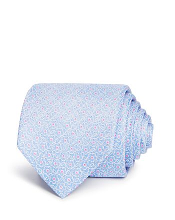 The Men's Store at Bloomingdale's - Floral Neat Classic Tie - 100% Exclusive