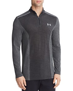 Under Armour Threadborne Heatgear® Seamless Regular Fit Pullover - Bloomingdale's_0