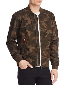 Superdry - Rookie Duty Camouflage Bomber Jacket