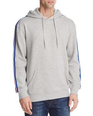 PACIFIC & PARK SPORTY STRIPE PULLOVER HOODIE - 100% EXCLUSIVE