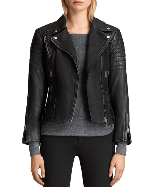 ALLSAINTS - Papin Leather Biker Jacket