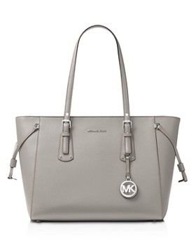 Michael Kors Voyager Multi Function Top Zip Medium Leather Tote
