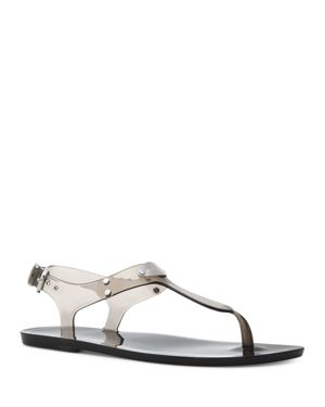 WOMEN'S JELLY THONG SANDALS