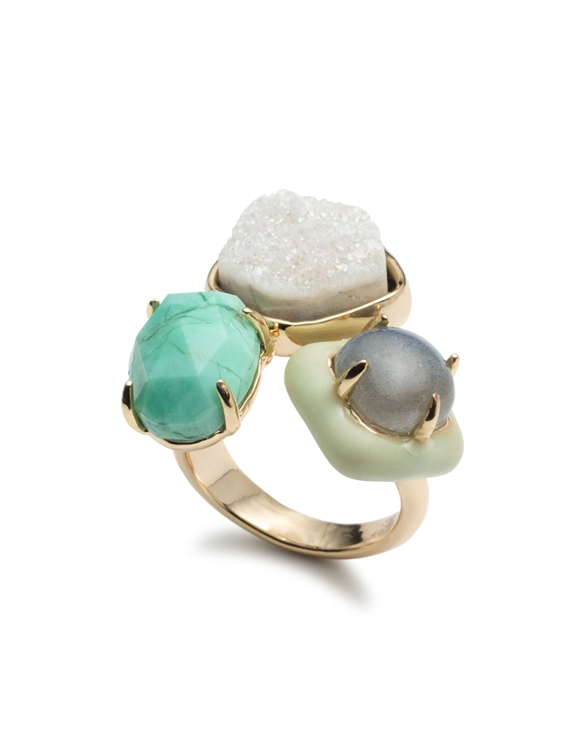 Cluster Cocktail Ring by Alexis Bittar