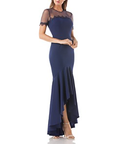 JS Collections - Illusion High/Low Gown