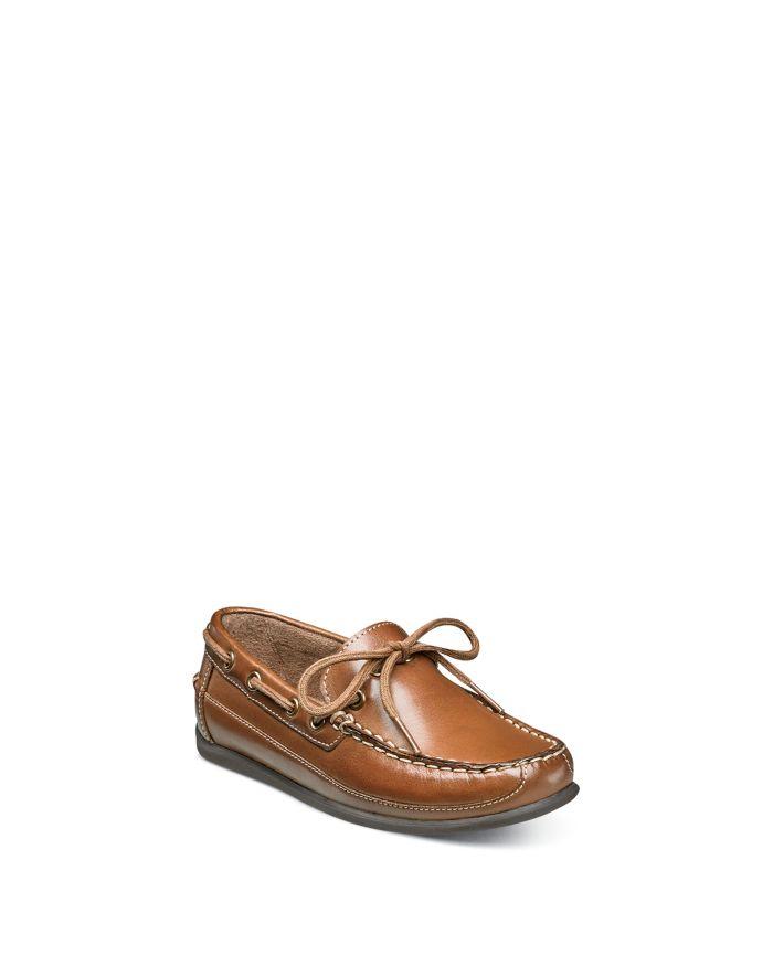 Florsheim Kids Boys' Jasper Tie Jr. Leather Loafers - Toddler, Little Kid, Big Kid  | Bloomingdale's