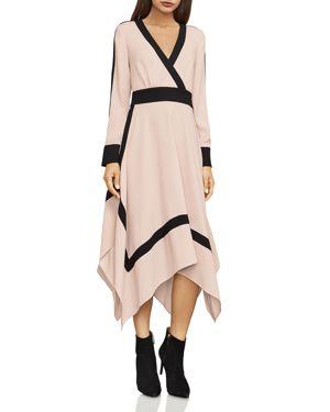 Bcbgmaxazria Bambi Faux Wrap Midi Dress 2840858
