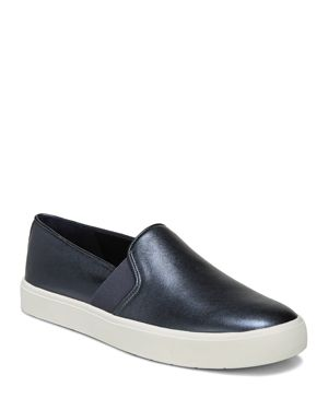 WOMEN'S BLAIR LEATHER SLIP-ON SNEAKERS - 100% EXCLUSIVE
